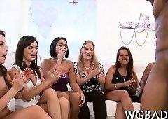 Sex Appeal oral-stimulation for stripper