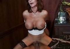 Scorching sexy Deauxma enjoys the warmth of her lover's ball batter on her mouth