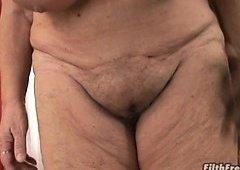 Horny granny needs 10-pounder badly!