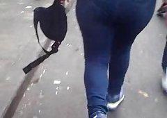 Culona de jeans