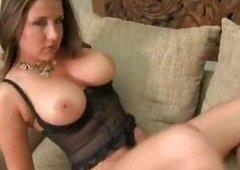 Busty babe Erica Campbell looking raunchy and additionally tempting as ever in her sexy lingerie