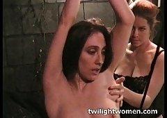twilightwomen - lez bondage orgasm
