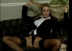 Solo action in nylons