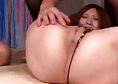 Milf Ruri Haruka craves for a nasty 3-way screw