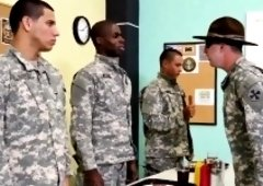 Gay sexy bathroom and organs first time Yes Drill Sergeant!
