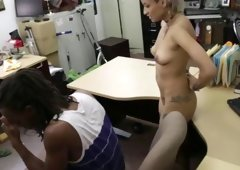 Sexy amateur loves hard cock and also receives fucked in the shop