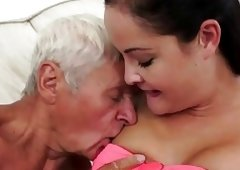 Young And Fresh females kinky picnic with a grandpa