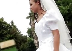 Sex Appeal bride fucks after failed wedding
